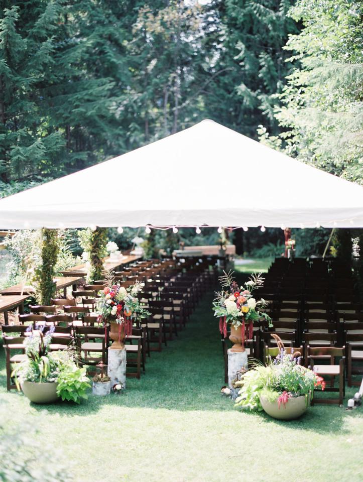 Backyard Squamish Wedding! | Denise Elliott Beauty Co.