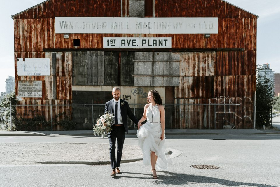 Kelsey & Dave at the old Vancouver Mill