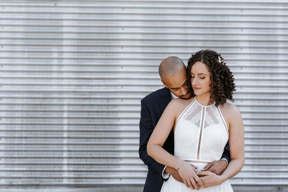Kelsey & Dave Hugging